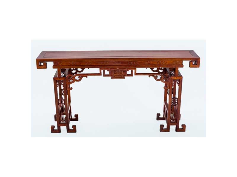 万宝红缅甸酸枝琴桌
