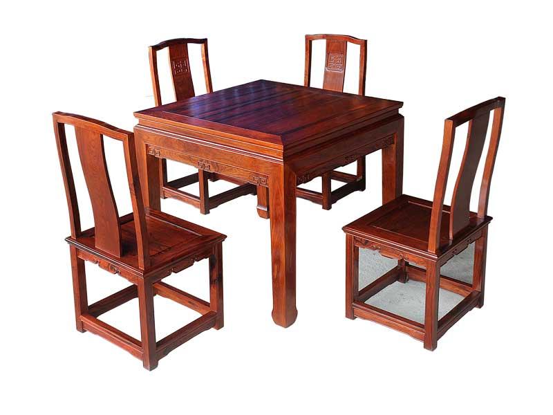 万宝红缅甸酸枝多用休闲桌