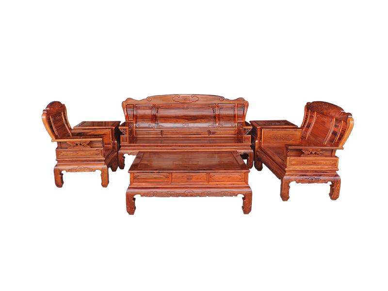 万宝红缅甸酸枝新中式沙发